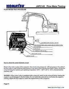 Komatsu Jhpc145 Parts  Safety  Om Manual Pdf