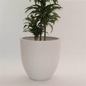 Pflanzkübel Weiß Rund : pflanzk bel fiberglas rund konisch d60xh60cm perlmutt wei ~ Whattoseeinmadrid.com Haus und Dekorationen