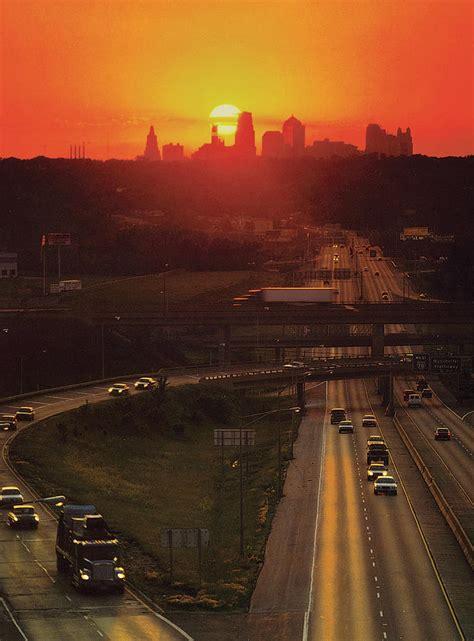 kansas city   sunset photograph  don wolf