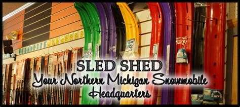 sled shed storage gaylord mi sled shed more links