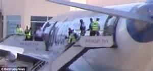 Honeymoon interrupted as disorderly Brit hauled off plane ...