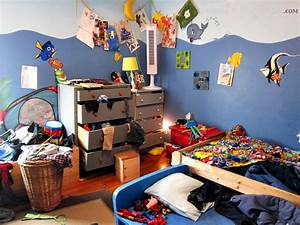 boys messy bedroom - Spoonful of Imagination