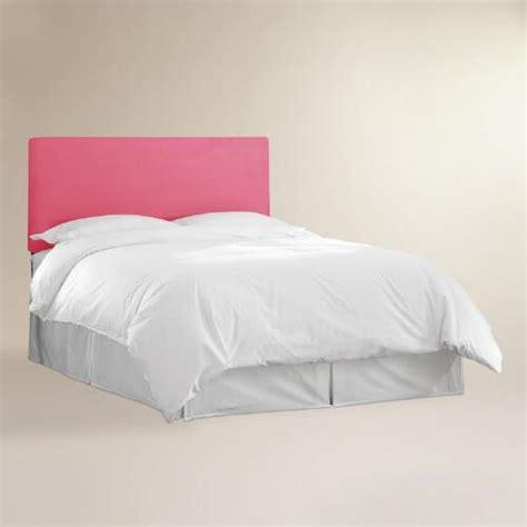 pink velvet headboard pink velvet parke headboard world market