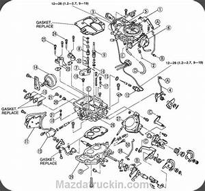 Fig  Fig  1  Exploded View Of The 2 0l And 2 3l Carbureted