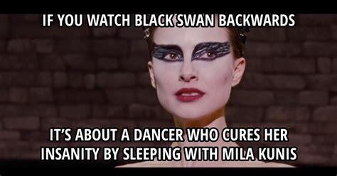 Black Swan Meme - black swan meme picture webfail fail pictures and fail videos