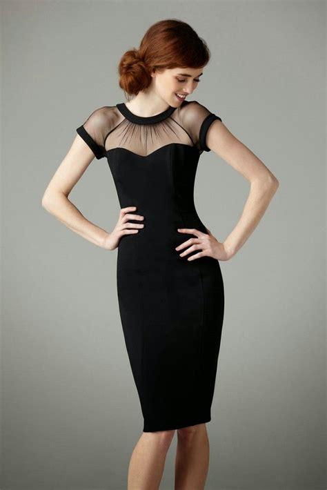 neckline  black party dresses dresscab
