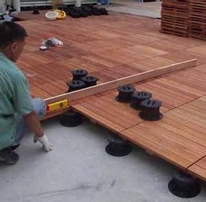 Plot Pour Terrasse Bois : faire une terrasse en bois combien de plots pr voir ~ Dailycaller-alerts.com Idées de Décoration
