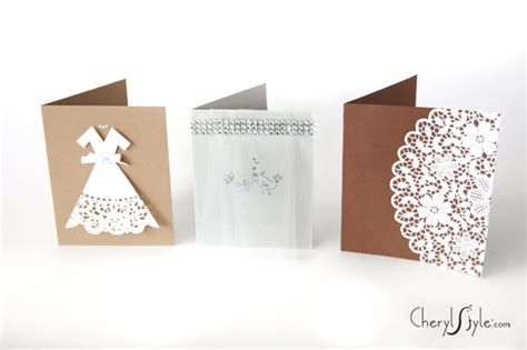 diy wedding cards everyday dishes