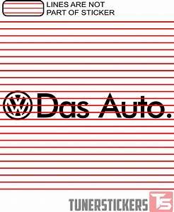 Volkswagen Das Auto : volkswagen das auto tuner stickers ~ Nature-et-papiers.com Idées de Décoration