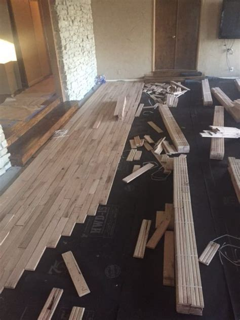 hardwood floors installed hand scraped hardwood floor installation