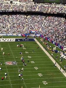 Redskins Seating Chart View Metlife Stadium Section 325 Row 18 Home Of New York