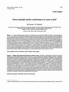 F 15 Vitesse Maximale : pdf vitesse maximale a robie et performance en course pied ~ Medecine-chirurgie-esthetiques.com Avis de Voitures