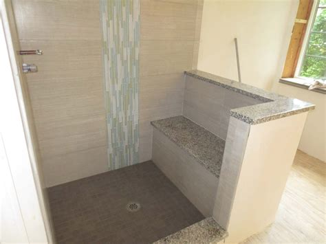 shower tub insert how to install a vertical mosaic glass tile border with