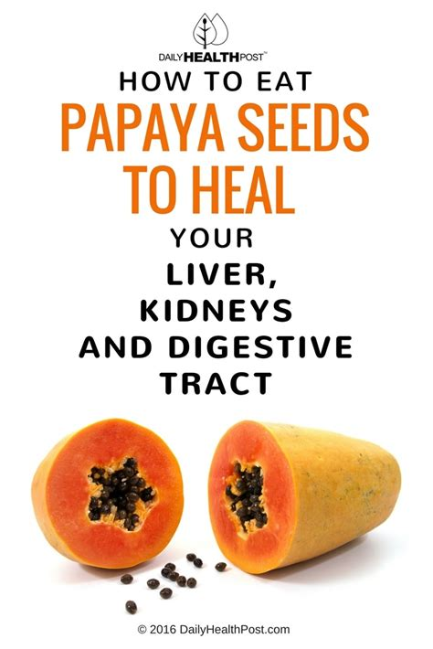 how to eat a papaya how to eat papaya seeds to heal your liver kidneys and digestive tract