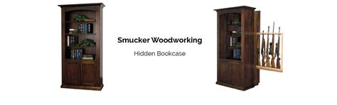 Bookcase With Gun Cabinet by Smucker Woodworking Releases Bookcase Gun Cabinet