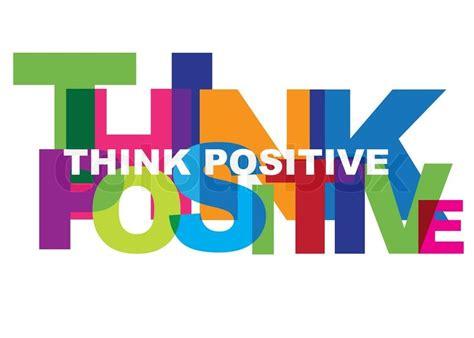 positives denken positiv optimist vektorgrafik