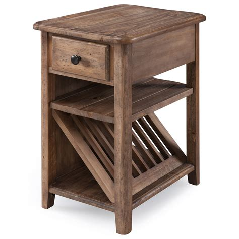 magnussen home baytowne chairside table homeworld