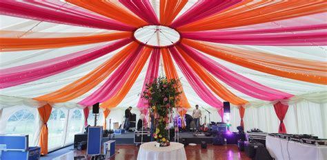 marquee draping ideas our the complete chillout company