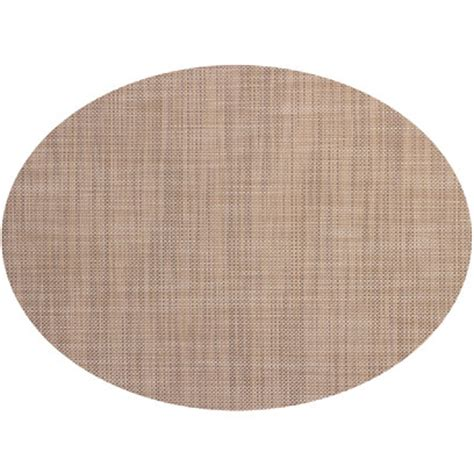 oval placemats chilewich minibasket table mat oval 14x19 linen