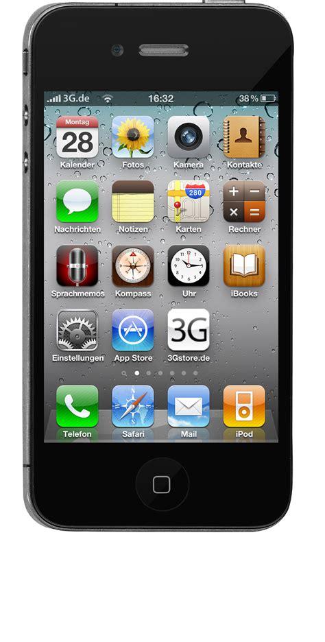 iphone 4 front iphone ohne vertrag iphone zubeh 246 r und cases im 3gstore