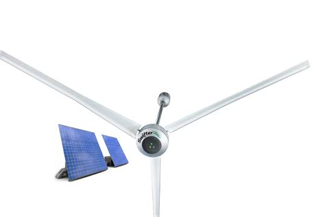 Hvls Commercial Ceiling Fans by Glocon Inc Introduces New Hybrid Solar Powered Hvls