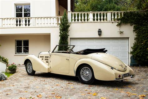 Just because someone chooses to live in a mobile home that doesn't mean they don't have fine taste when it comes to automobiles. Art Deco magic to dominate million-dollar cars at 2020 Retromobile