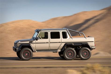 mercedes benz jeep 6 wheels upgrade your offroad adventures with the mercedes benz g63