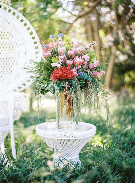 natural bohemian wedding inspiration