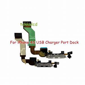 Working Chrgaer Charging Flex Cable For Iphone 4s Usb