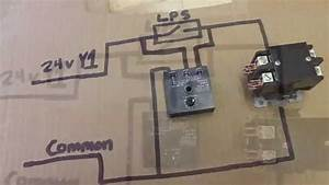 Hvac Relay Training Bypass Timer Youtube  Furnace Relay