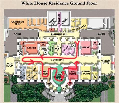 Fresh White House Floor Plans by Residence Ground Floor Plan The White House