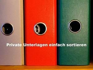 Private Unterlagen Sortieren Struktur : das bisschen haushalt einfache organisation rezepte ~ Watch28wear.com Haus und Dekorationen
