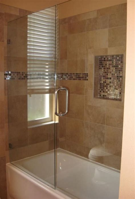 Tub Shower Doors by Frameless Glass Shower Door With Tub Needs Fixed