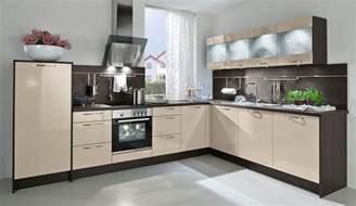 küche braun trend einbauküche aspen kaschmir glaenzend küchen quelle