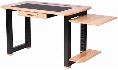 Loft Desk Shelf Ash Desks Printer Place
