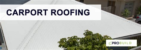 carport roofing options explained
