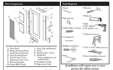 pella door parts pella sliding screen door parts diagram sliding door designs
