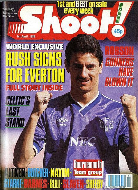 Retro Football: Liverpool Hero Ian Rush Signs For Everton ...