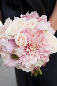 dahlia light pink bouquet | Pretty in Pink | Pinterest