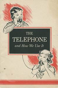Break Out Your Vintage Rotary Phone With This 1950s Manual