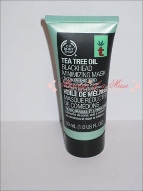 body shop tea tree oil blackhead minimizing mask
