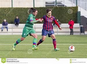 Women Soccer Match FC Barcelona Vs Levante Editorial