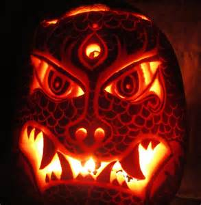 Scary Halloween Pumpkin Carving Ideas