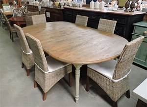 Les meubles occasion for Meuble salle À manger avec chaise osier