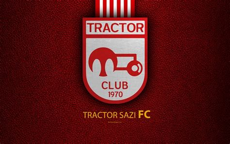 wallpapers tractor sazi fc  logo leather