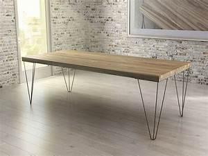 Tisch Metall Holz : estisch massivholz cassina ~ Whattoseeinmadrid.com Haus und Dekorationen