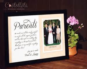 wedding gifts for parents parents wedding gift parents thank you gift wedding gift for paren