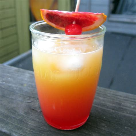 drink recipe tequila sunrise cocktail recipe popsugar food