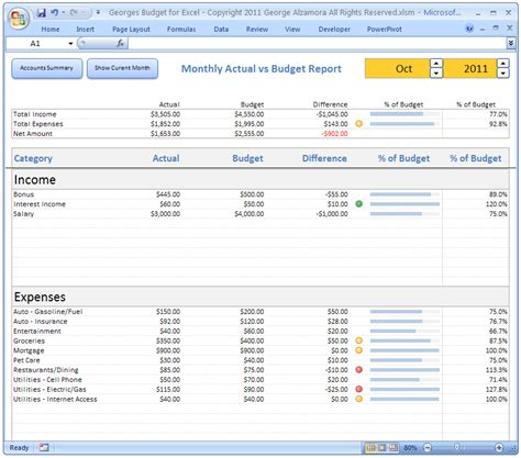 excel monthly budget template excel budget spreadsheet personal budgeting software checkbook register template