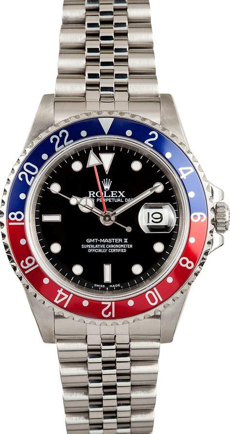 Rolex GMT Master II 16710 Jubilee - Buy it at Bob's ...